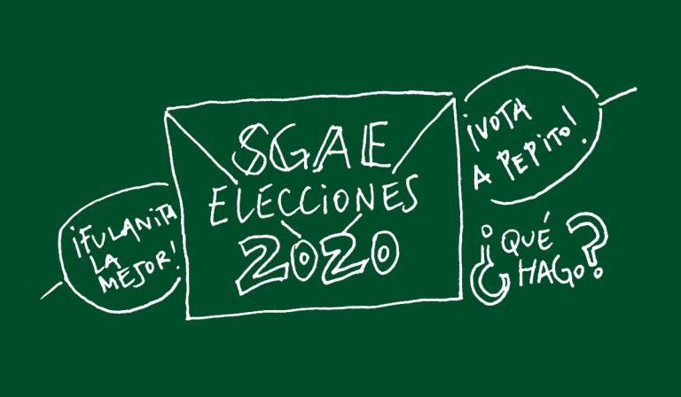 Autoría, 19, elecciones SGAE
