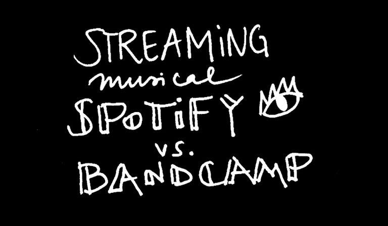 Autoría, programa 20, Spotify vs Bandcamp