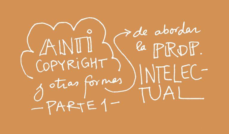 Autoría 50, Anticopyright